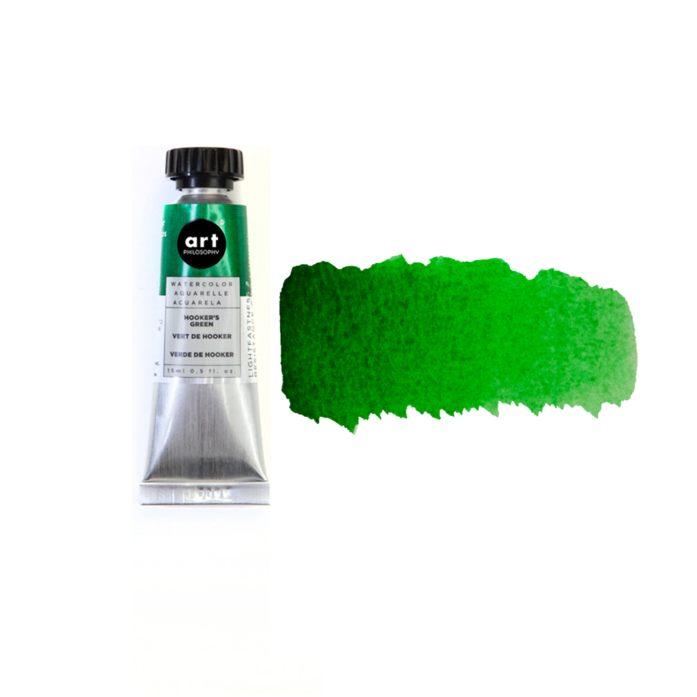 Prima Watercolor Tube Hooker's Green