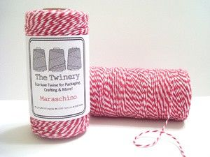 Twine Maraschino Red