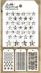 Tim Holtz Mini Stencils Set 11