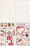 BG Glitter Chipboards