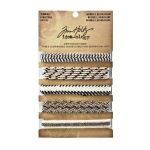 Tim Holtz Trimmings Natural Black/Cream