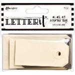 Letter It Assorted Tags