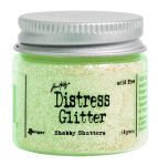 Distress Glitter Shabby Shutters