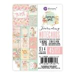 Prima Heaven Sent 2 Journaling Note Cards 3x4
