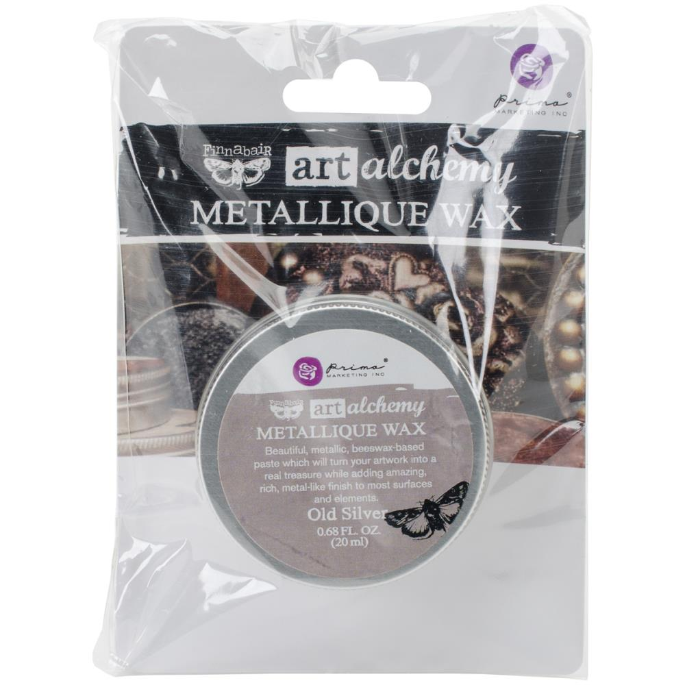 Prima Wax Metallique Old Silver