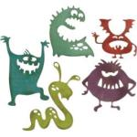 Die Tim Holtz Silly Monsters