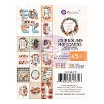 Prima Pumpkin & Spice Journaling Cards 3x4