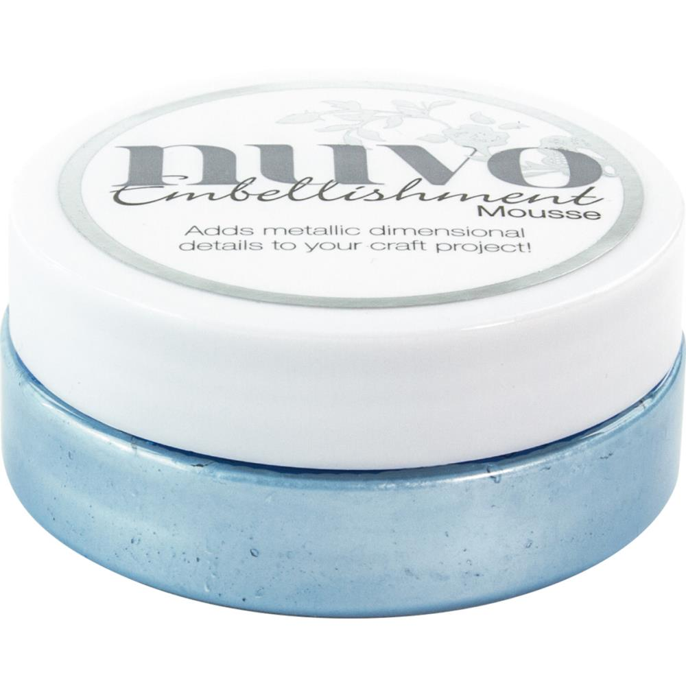 Nuvo Mousse Cornflower Blue