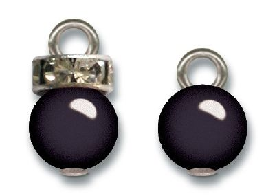 JBS Pearl Charms BLACK