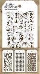 Tim Holtz Mini Stencils Set 7