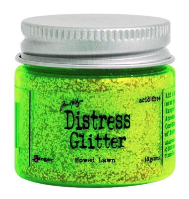 Distress Glitter Mowed Lawn