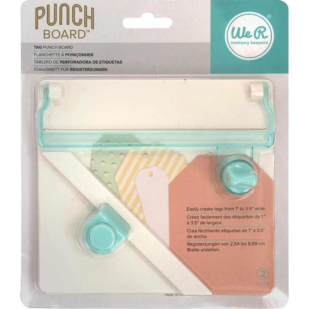 WRMK Punch Board Tag