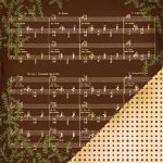 MM Music Note Brown Noel