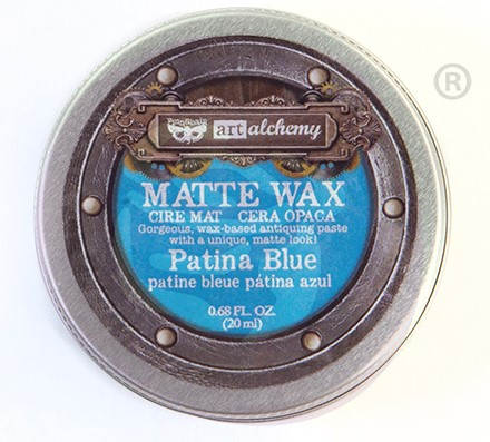 Prima Wax Matte Patina Blue