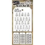 Tim Holtz Mini Stencils Set 32
