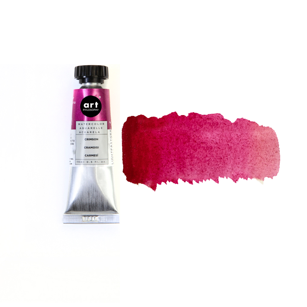 Prima Watercolor Tube Crimson