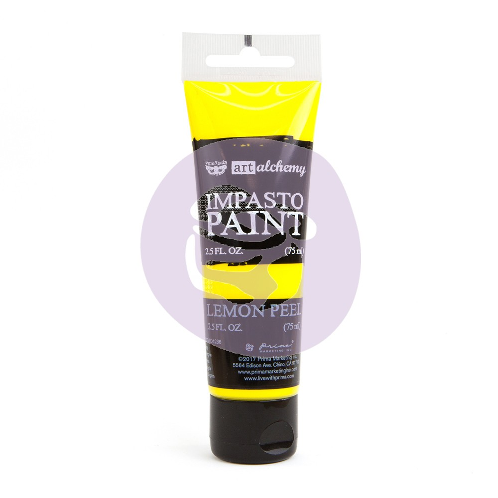 Art Alchemy Impasto Lemon Peel