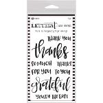 Letter It Clear Stamps Thank You