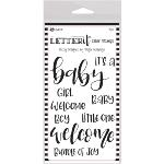 Letter It Clear Stamps Baby