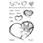 Gabi's With All Your Heart Stamp Set